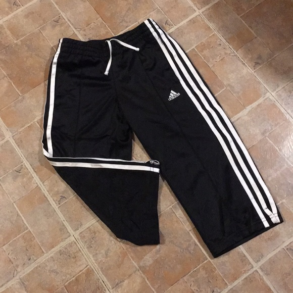 adidas Other - Adidas cropped athletic pants size kids girls MD